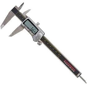 Carrera Precision CP9806-TF Titanium 0-Inch to 6-Inch Electronic Fractional & Decimal Digital Caliper