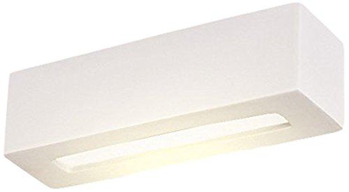 Lampex, 026/32B, Lampada da parete Hera 32, Bianco (weiß)