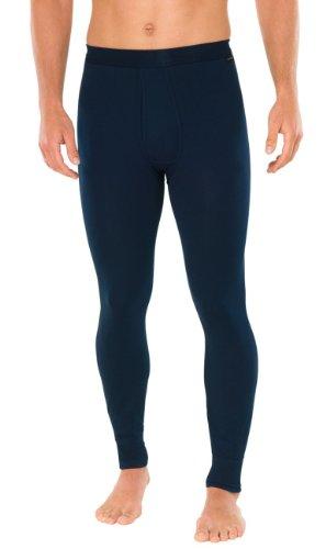 SCHIESSER Herren lange Unterhose, Pant mit Eingriff, Essentials, nachtblau, 140335, Farbe:nachtblau;Größe:8 (XXL)