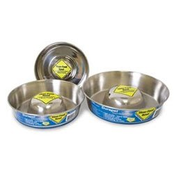 Durapet Premium Stainless Steel Slow-Feed Bowl for Dogs and Cats from Durapet