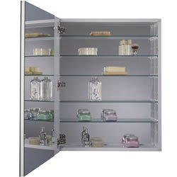 medicine cabinet with polished mirror 24 inch by 30 inch home