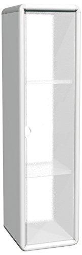 mongardi-7219c05-picawall-locker-1-anta-transparente-3-estantes-blanco