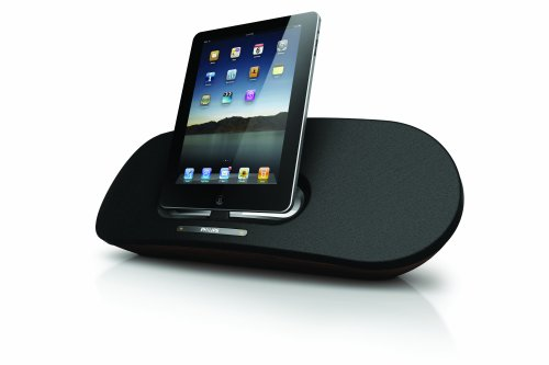Philips DS9/10 Fidelio Primo Docking Speaker for iPad/iPhone/iPod - Wood Finish