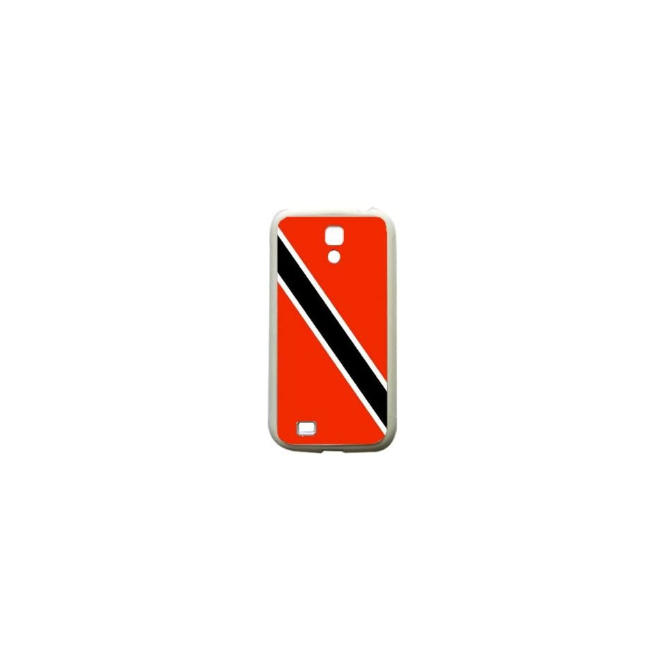 Trinidad and Tobago Flag Samsung Galaxy S4 White Silcone Case   Provides Great Protection