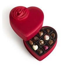 godiva valentine heart