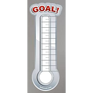 printable goal setting thermometer. Black Bedroom Furniture Sets. Home Design Ideas