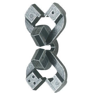 Hanayama Chain Cast Metal Brain Teaser 