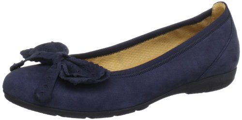 Gabor Shoes Gabor 6416116, Ballerine donna, Blu (Blau (nightblue)), 44