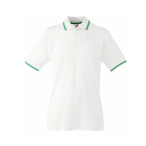 Fruit of the Loom Mens Tipped Polo Shirt