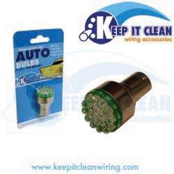 Keep It Clean (1157Ledg) 12V Led Bulb, Green
