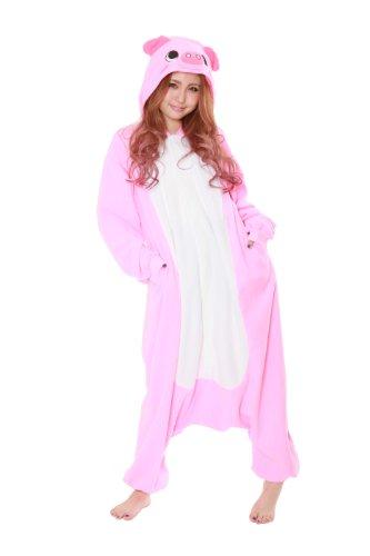 Pig Kigurumi - Adult Costume front-817653