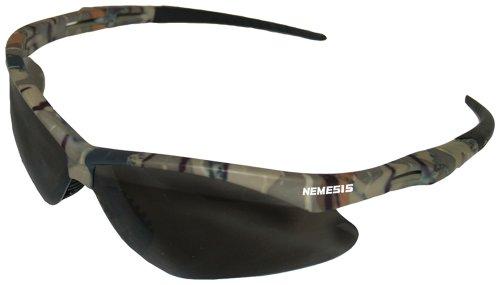 Glasses Frame History : Jackson Safety 22609 V30 Nemesis Safety Glasses, Smoke ...