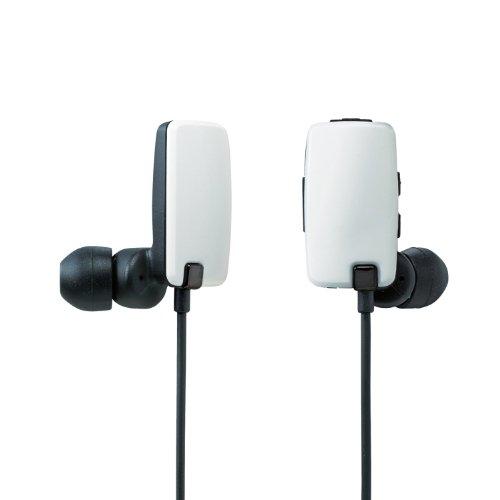 Logitec Bluetooth 2.1+EDR対応 ステレオイヤホン[USB充電ケーブル付] カナルタイプ 05シリーズ ホワイト LBT-MPHP05WH
