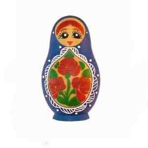 Russian Doll 8GB USB Flash Memory Drive BLUE by EASYWORLD
