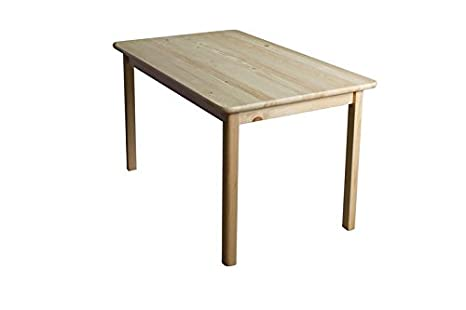 Tisch 80x50 cm, Farbe: Natur
