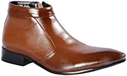 Pinellii Mens Formal Leather Slip on Boot B01LD7LRIW