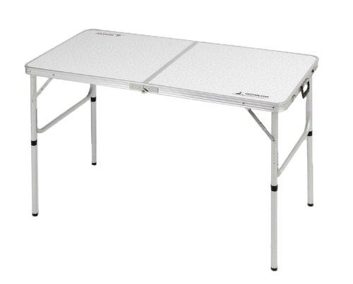 キャプテンスタッグ テーブル ラフォーレ アルミツーウェイテーブル アジャスター付 M 120×60cm UC-510