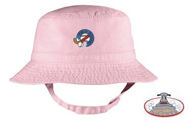Embroidered Infant Bucket Cap with the image of: carpet cleaning logo