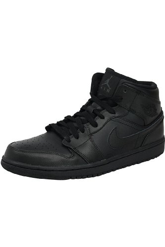 Nike Air Jordan 1 Mid Mens Basketball Shoes 554724-010