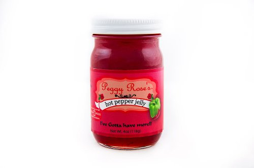 Peggy Rose's Pepper Jelly (Hot, 4 oz)