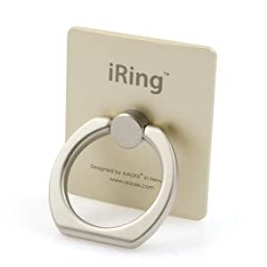 I Ring Universal Masstige Ring Grip/Stand Holder for any Smart Device - Gold (New Year Sale)