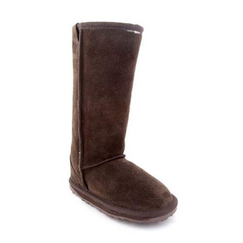 Emu Australia Wallaby Hi Boot (Toddler/Little Kid/Big Kid),Chocolate,13 M Us Little Kid front-610144