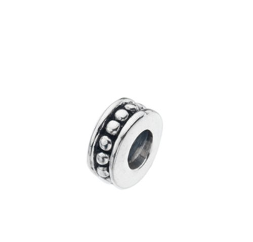 Virtue Silver Channel Set Beads Bead