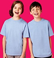 2 Pack Unisex Outstanding Value Crew Neck T-Shirts with StayNEW™