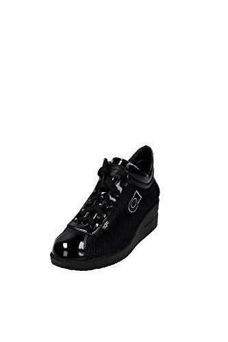 AGILE BY RUCOLINE donna sneakers zeppa 226 A NEW TOP CHAMBERS 36 NERO