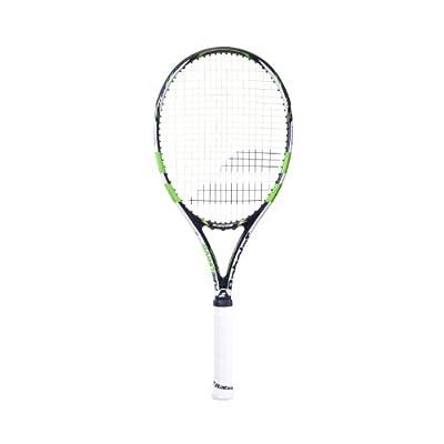 Babolat 102212-152 Pure Drive GT Wimbledon Strung Tennis Racquet, 4 3/8 (Green/White)