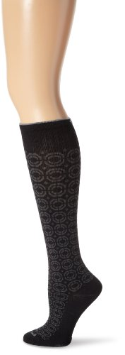 Sockwell Women'S Meta Cushion Circulator Compression Socks, Black, Small/Medium