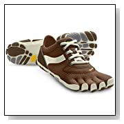 Vibram Fivefingers Speed Mens Running Black/White/Black