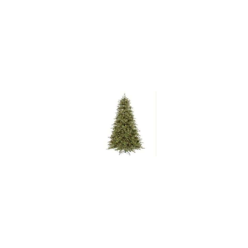 7.5 Pre Lit Valley Fir Artificial Christmas Tree   Multi Dura Lit Lights