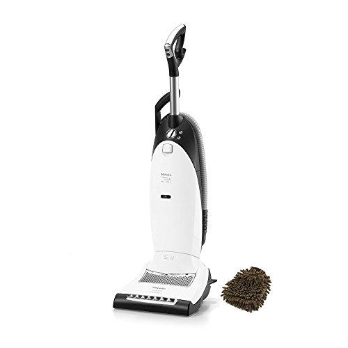 Dynamic U1 Cat & Dog Miele Bags Vacuum Cleaner, Upright, Lotus White (Complete Set) w/ Bonus: Premium Microfiber Cleaner Bundle (Miele Lotus compare prices)
