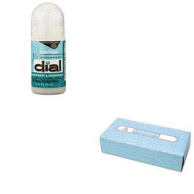 KITBWK6500DPR07686 - Value Kit - Dial Anti-Perspirant Deodorant (DPR07686) and Boardwalk 6500 Two-Ply Facial Tissue (BWK6500)