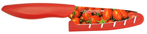 Kai USA Pure Komachi AB9004 HD Photo Tomato Knife, 4-Inch, Tomatoes
