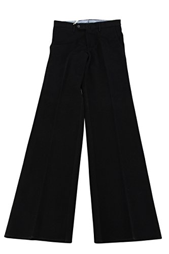 lardini-mens-black-casual-pants-size-46-regular