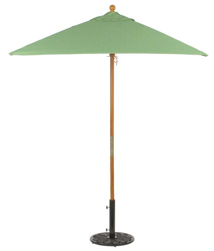 Square 6' Market Umbrella - Dupione Paradise - Buy Square 6' Market Umbrella - Dupione Paradise - Purchase Square 6' Market Umbrella - Dupione Paradise (Oxford Garden, Home & Garden,Categories,Patio Lawn & Garden,Patio Furniture,Umbrellas & Accessories,Umbrellas)