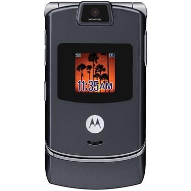 Sprint Pcs Motorola Razr V3M Bluetooth Camera Phone