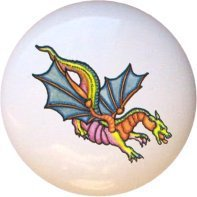 Dragon Design1 Drawer Pull Knob