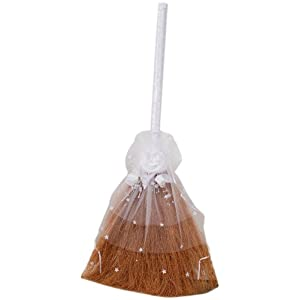 Darice VL3080, Wedding Jump Broom Decorated 32-Inch