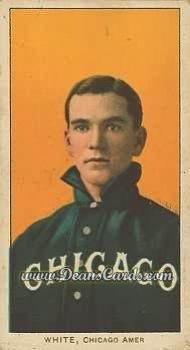 1909 T206 Reprint # 507 POR Doc White Chicago White Sox (Baseball Card) (Chicago Portrait) Dean's Cards 8 - NM/MT