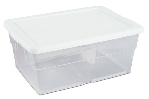 sterilite-16448012-16-quart-15-liter-storage-box-white-lid-with-clear-base-12-pack