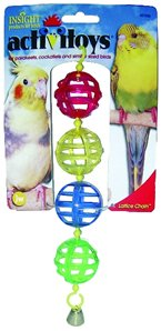 JW Pet Company Insight Lattice Chain Small Bird Toy Assorted Colors