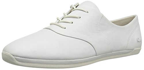 Lacoste Women's Rosabel Lace 316 1 Caw Fashion Sneaker, White, 7.5 M US