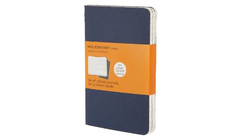 Cahier Pocket Ruled Blue Cover (Moleskine Srl), 