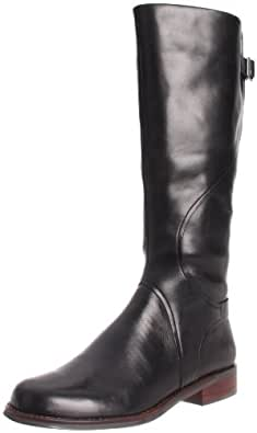 Clarks Women's Denton Sand Knee-High Boot,Black,6 M US