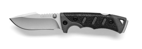 Gerber 30-000009 Metolius Drop Point Knife with Fine Edge, Sheath Included