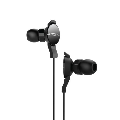 Sol Republic 1102-61 Amps In-Ear Headphones With 1-Button Remote And Microphone - Black
