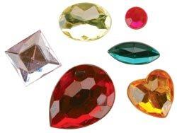 Darice Rhinestone Shapes 30 Grams Multi 1074-11; 3 Items/Order